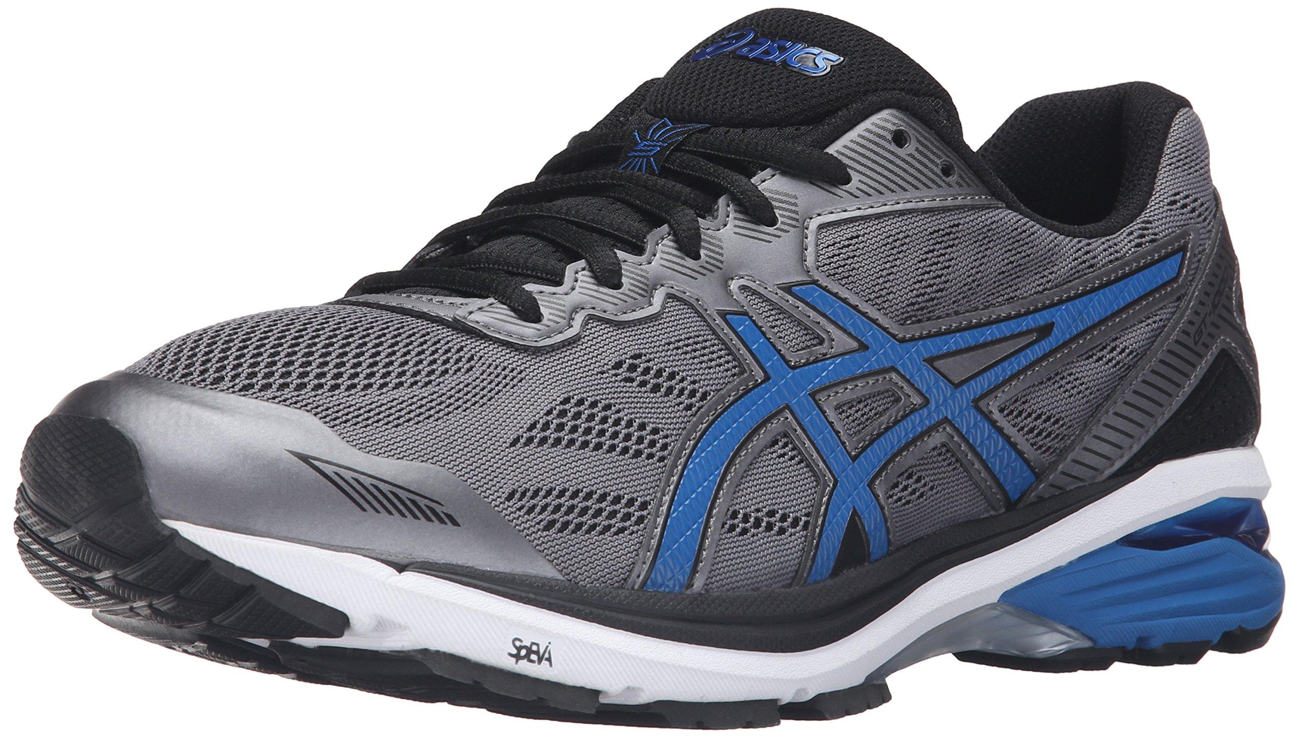 ASICS Men's Gt-1000 5 Running Shoe, Carbon/Imperial/Black, 12 M US