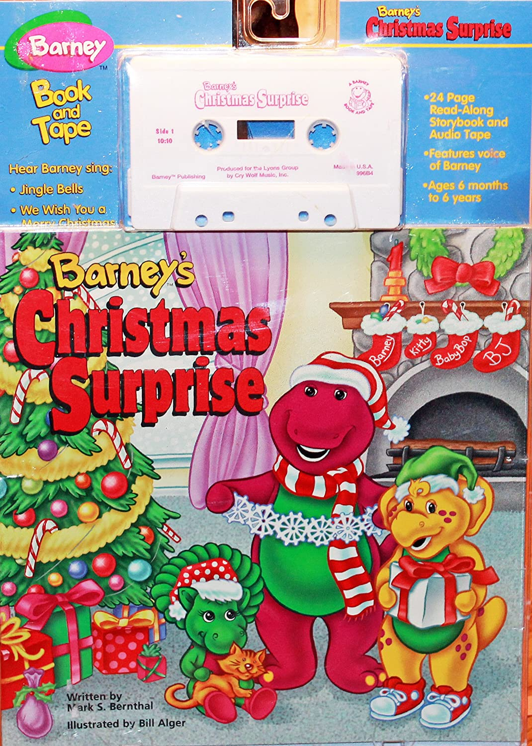 Read-Along - Barney\'s Christmas Surprise - Amazon.com Music