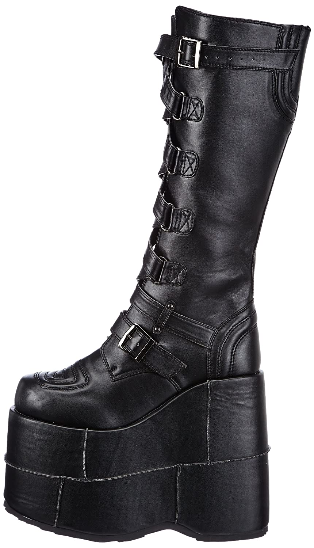 720bdedd24077 Pleaser Men's Stack-308 Platform Boots