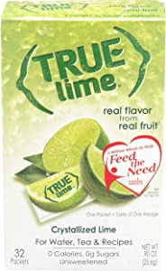 True Lime Crystallized Lime 32 x .8g Packets - 0.91 oz.