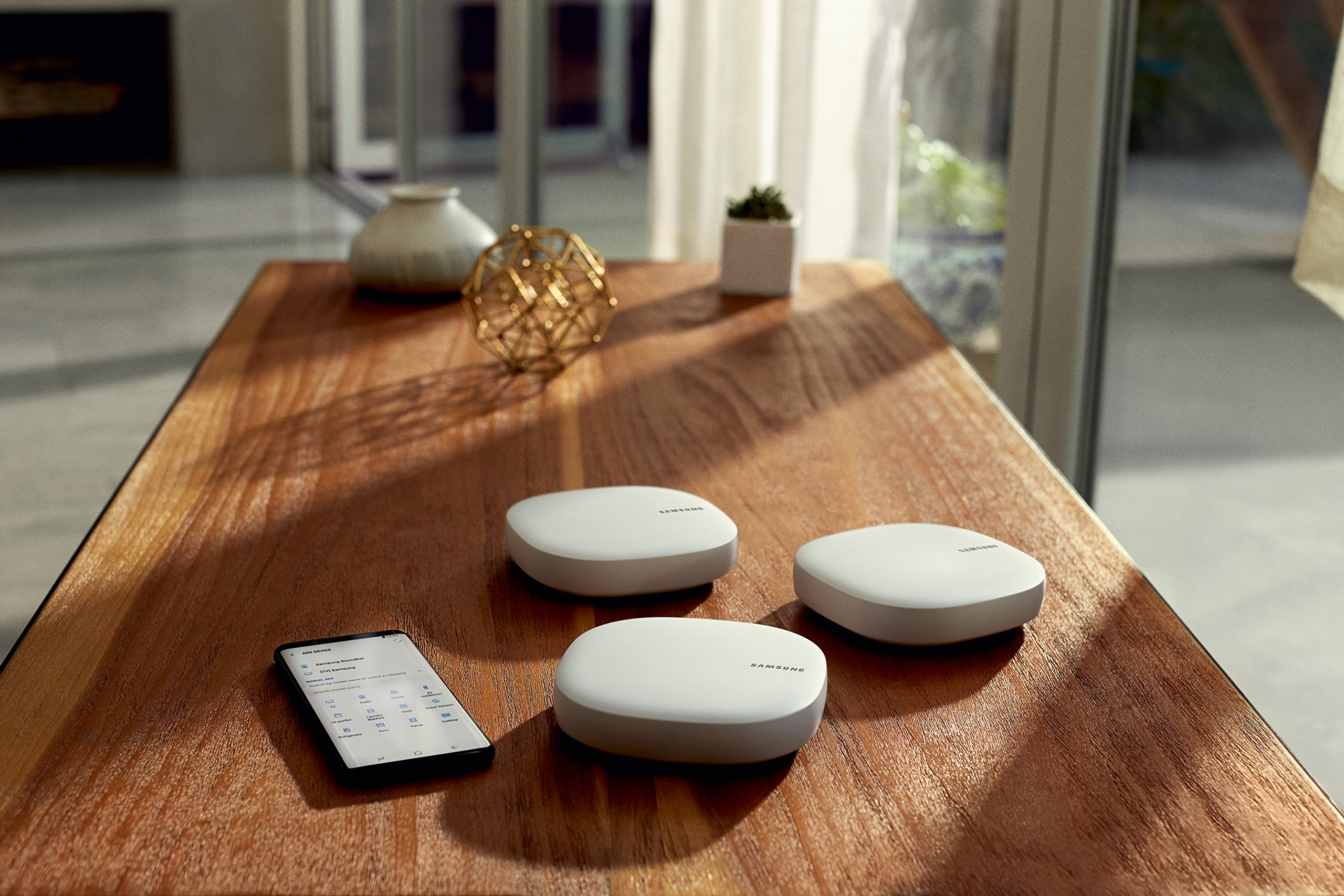 Samsung Connect Home AC1300 Smart Wi-Fi System (3-Pack), Works as a SmartThings Hub by Samsung (Image #4)