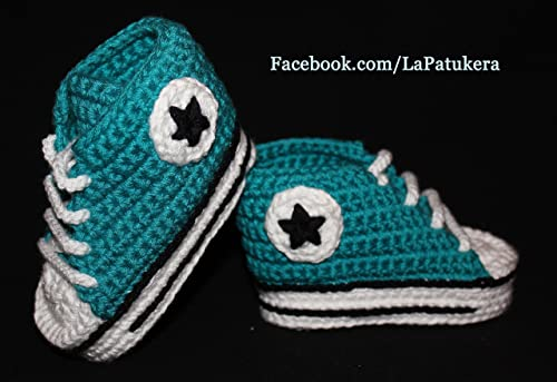 Bébé Chaussons style Converse All Star. 100% coton: Amazon