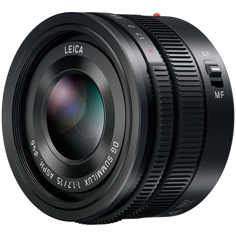 Panasonic Lumix G LEICA DG SUMMILUXレンズ、15 mm、f1.7 Asph。、プロフェッショナルミラーレスMicro Four Thirds、h-x015 (USAブラック)   B00J8HV6DG