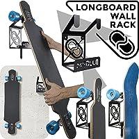 MEOLLO Soporte Colgador para Longboard (100% Acero)