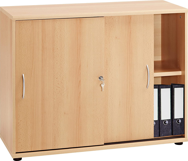 VCM VCM Sideboard Ordner Schrank Akten Büro Möbel Regal mit ...