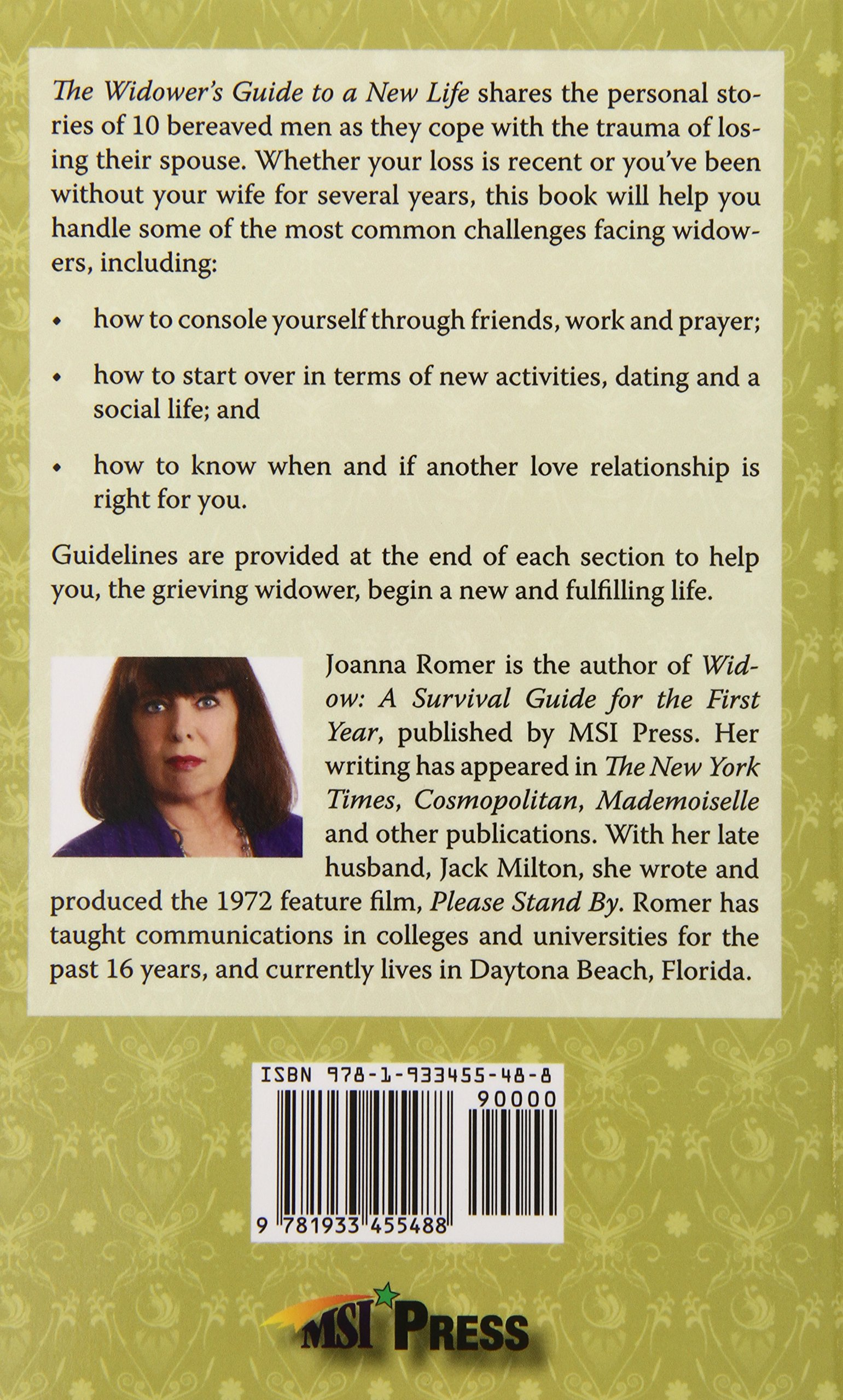 The Widower's Guide To A New Life: Joanna Romer: 9781933455488: Amazon:  Books
