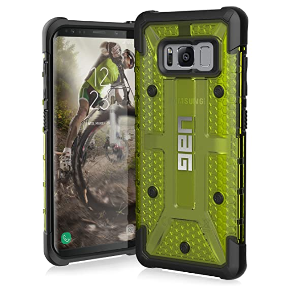 separation shoes 674ba 237a2 UAG Samsung Galaxy S8 [5.8-inch Screen] Plasma Feather-Light Rugged  [Citron] Military Drop Tested Phone Case