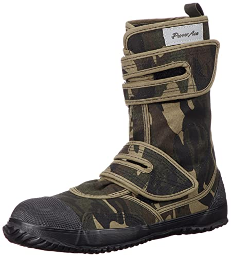 Japanese Tabi Power Ace High Guard Steel Toe Camouflage Tactical Boots (25.5 cm)