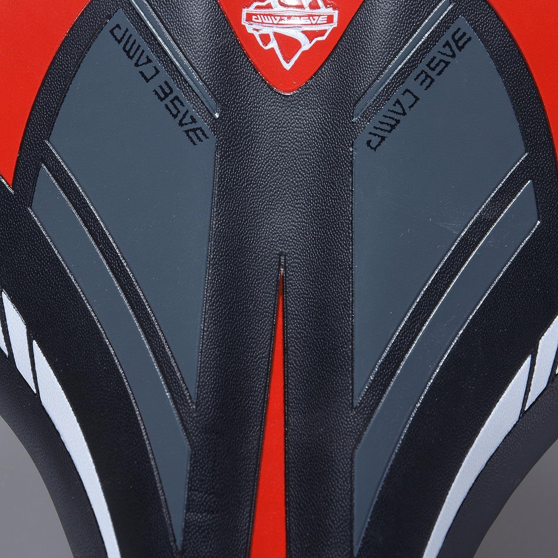 Eleganantimpresionante sill/ín de Bicicleta para Bicicleta Rojo Asiento Profesional para Bicicleta de Carretera MTB Gel Comfort Sill/ín de Bicicleta Bicicleta Asiento Negro