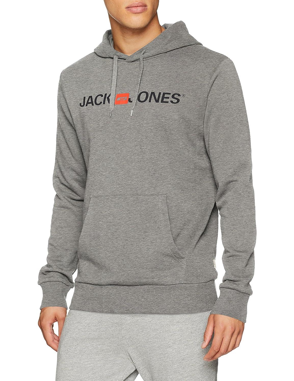 TALLA L. JACK & JONES Jjecorp Logo Sweat Hood Noos Capucha para Hombre