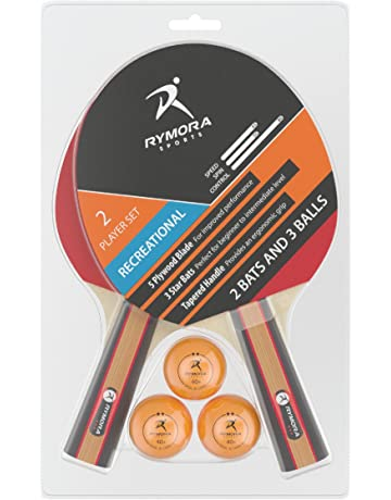 c342ce9496 Rymora Table Tennis 2 Player Set (2 Bats and 3 Balls) (Perfect for
