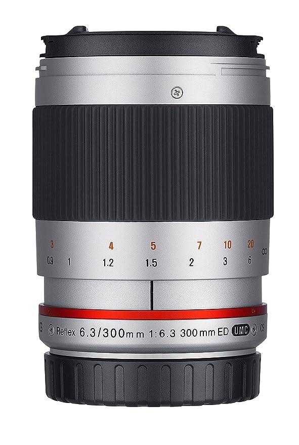 Samyang 300mm F6.3 Objektiv für Anschluss Fuji X - silber