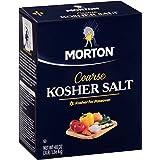 Morton Coarse Kosher Salt Box, 48 Ounce