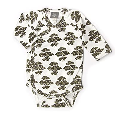 67e0cd680 Image Unavailable. Image not available for. Color: Kate Quinn Organics  Unisex-Baby Long Sleeve Kimono Bodysuit ...