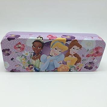 Princesas Disney – Estuche de lata, lapiz soporte 8