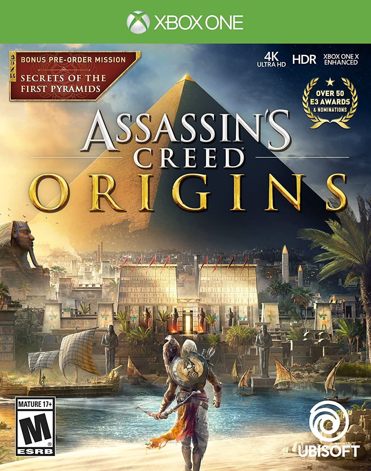 Amazon Com Assassin S Creed Origins Xbox One Standard Edition