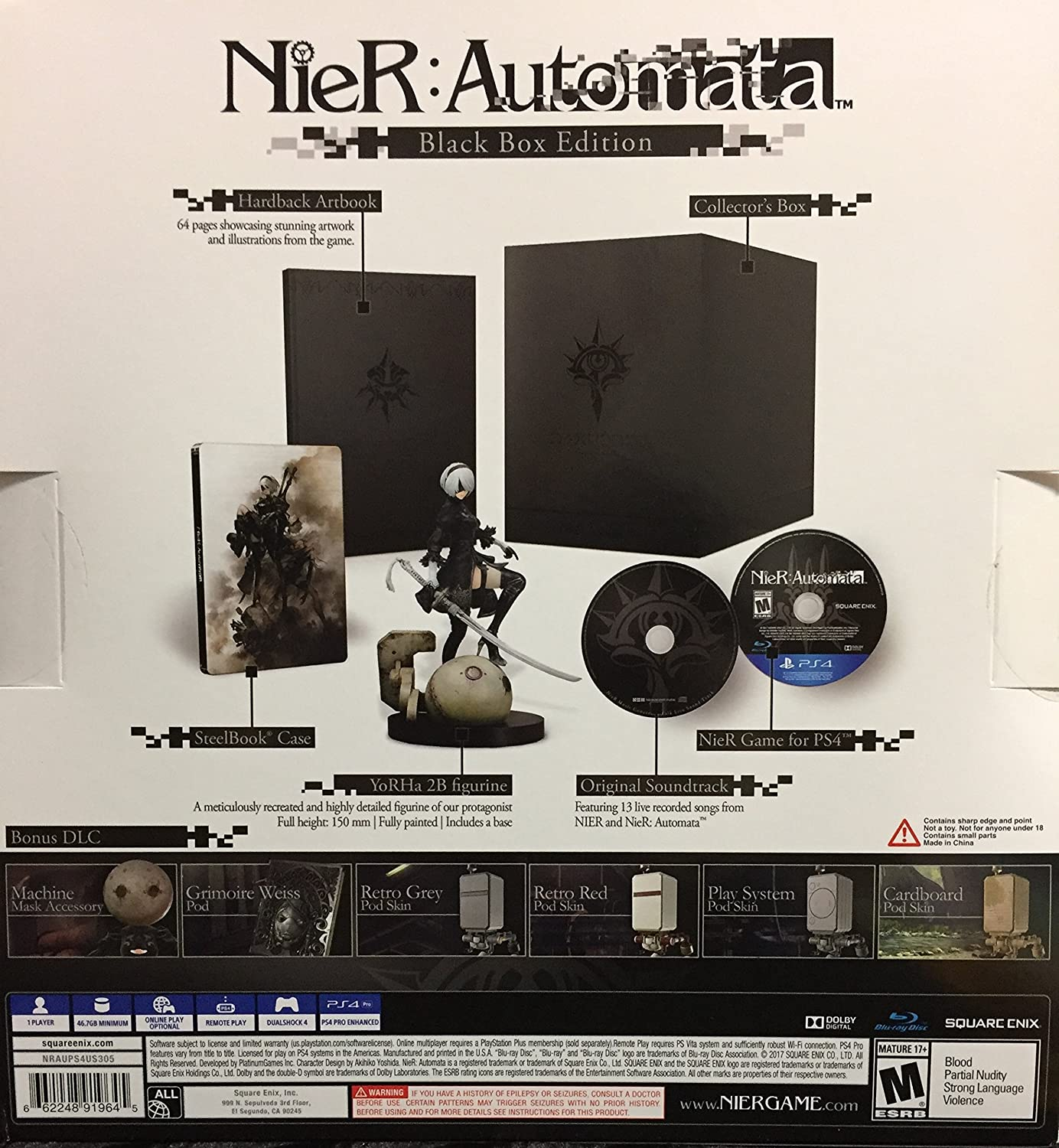 nier automata black box edition gamestop