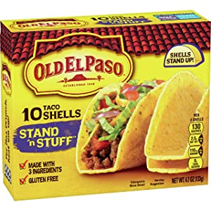 Old El Paso Taco Shells Stand 'n Stuff 10 ct, 4.7 oz