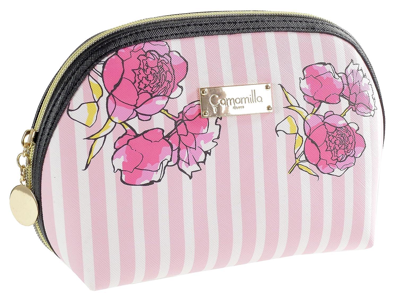 Camomilla Milano- busta L stripe& flower rosa