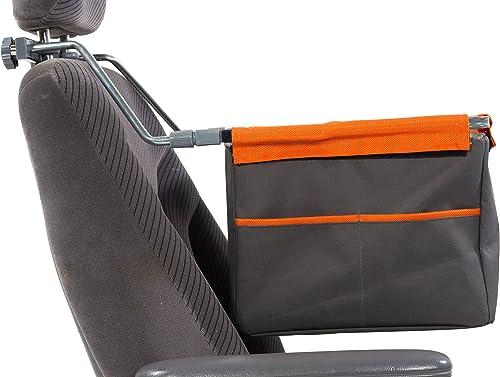 Emanuele Bianchi Design Petego Kar 9 Lift Universal Automotive Pet Booster Seat, Gray