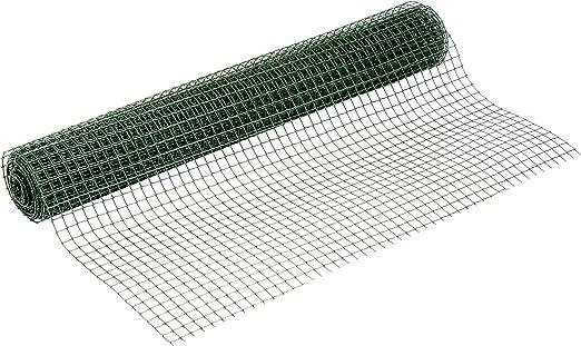 Catral 52010017 - Rollo malla cuadrada, 0.2 x 500 x 100.0 cm, color verde: Amazon.es: Jardín
