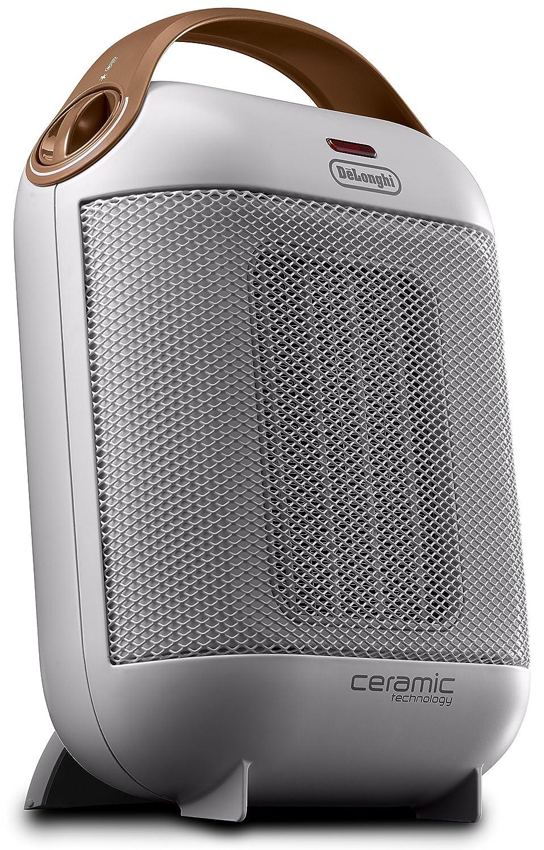 Delonghi HFX30c18.IW - Calefactor cerámico vertical, 2 ajustes de potencia de 900 y 1800 w, auto regulable e innovador, blanco: Amazon.es: Hogar