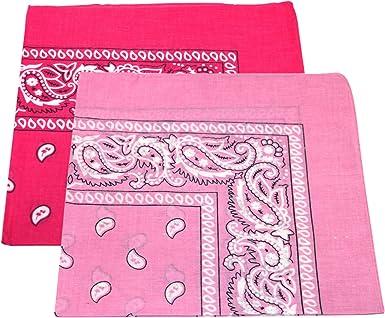 2 pañuelos para hombre y mujer, diseño de cachemira, 100% algodón ...