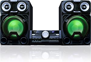 Toshiba TY-ASW8000 800 Watt Bluetooth Stereo Sound System: Wireless Mini Component Home Speaker System with LED Lights