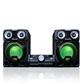 Toshiba 800 Watt Bluetooth Stereo Sound System Wireless Mini Component Home Speaker With LED
