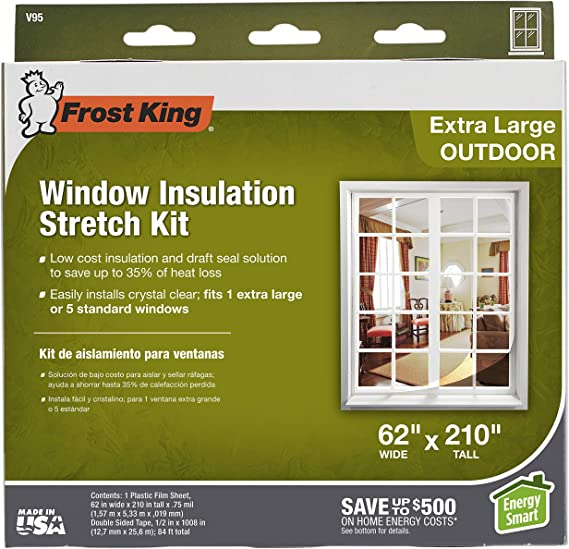 frosting glass windows reviews online shopping frosting.htm frost king v95h  62 inch by 210 inch  clear weatherproofing  frost king v95h  62 inch by 210 inch