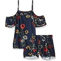 XOXO Conjunto de Playera y pantalón Corto de Punto Suave para niñas