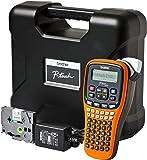 Brother PTE100VP Etiqueteuse Electronique pour Electriciens Orange/Noir