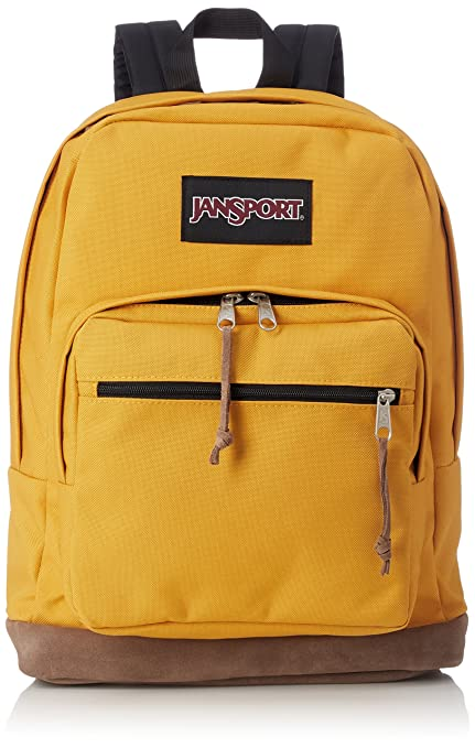 68d71242ccb7 Amazon.com  JanSport Right Pack Laptop Backpack - English Mustard ...