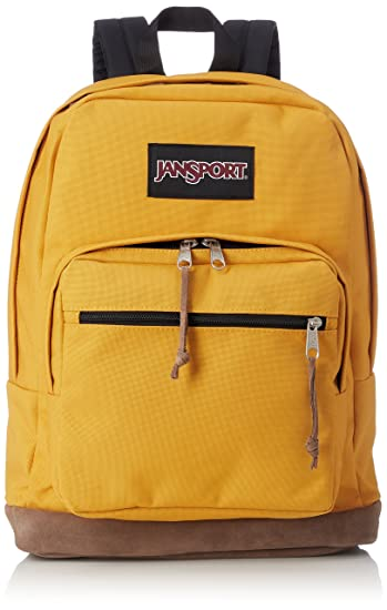 62188906d Amazon.com: JanSport Right Pack Laptop Backpack - English Mustard ...