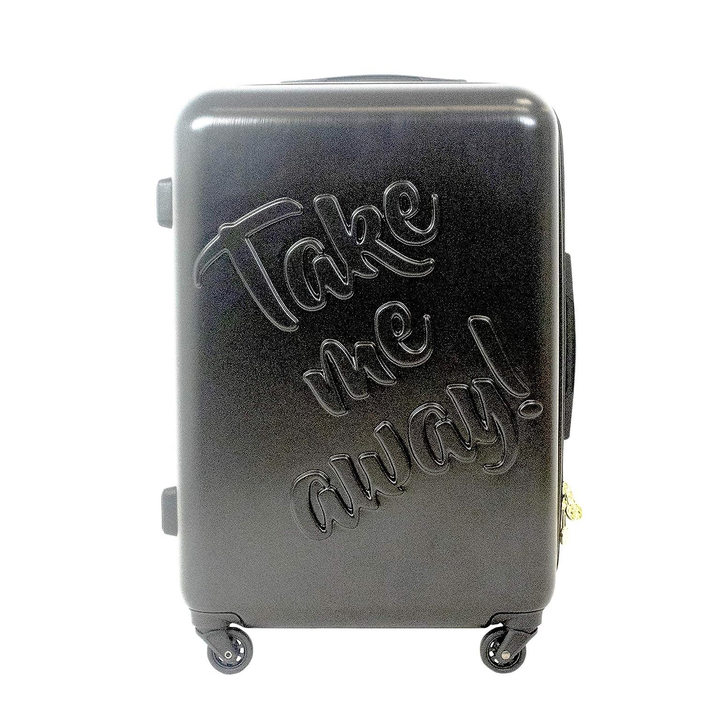 Macbeth スーツケース  ブラック B07H5THFR6