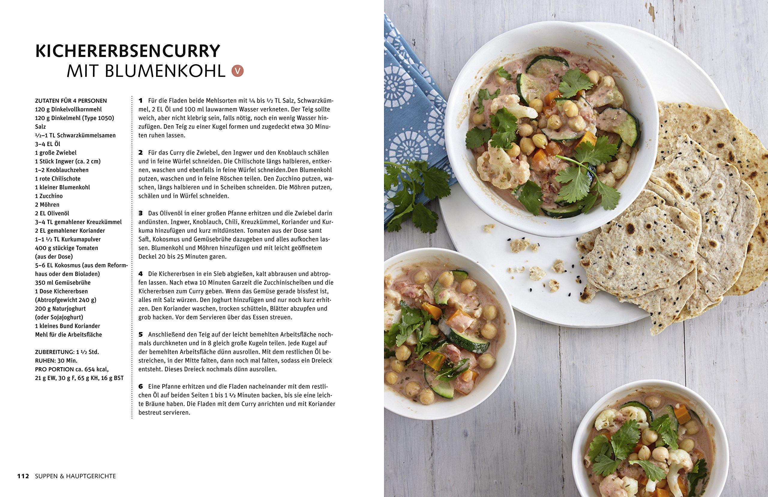 Servieren Sie das Curry, um Gewicht zu verlieren