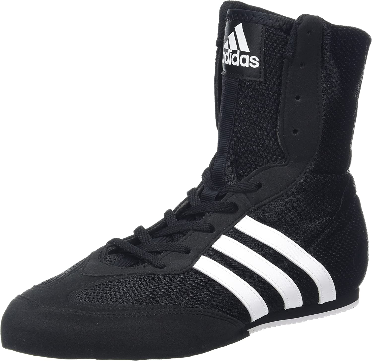 New Adidas Box Hog 2 Junior Boxing Boots Black