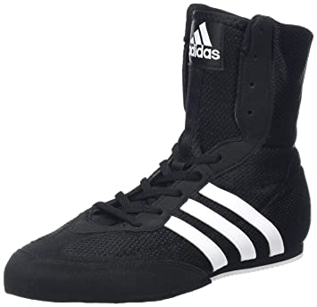 online store bb50f 9a2b9 adidas Box Hog Kids Boxing Trainer Shoe Boot BlackWhite - US 7