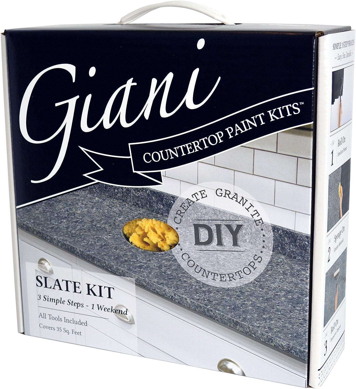 Giani Granite Countertop Paint Kit Slate