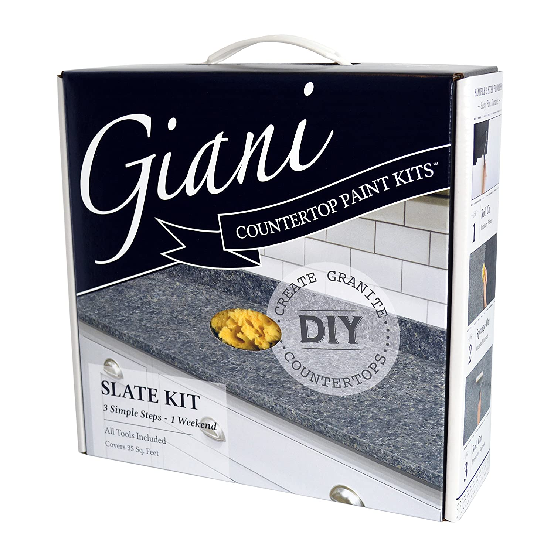 Pleasing Giani Granite Countertop Paint Kit Slate Download Free Architecture Designs Momecebritishbridgeorg