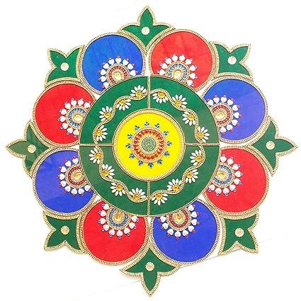 Amazon Com Ethnic Avenue Geometric Mandala Wall Floor Table