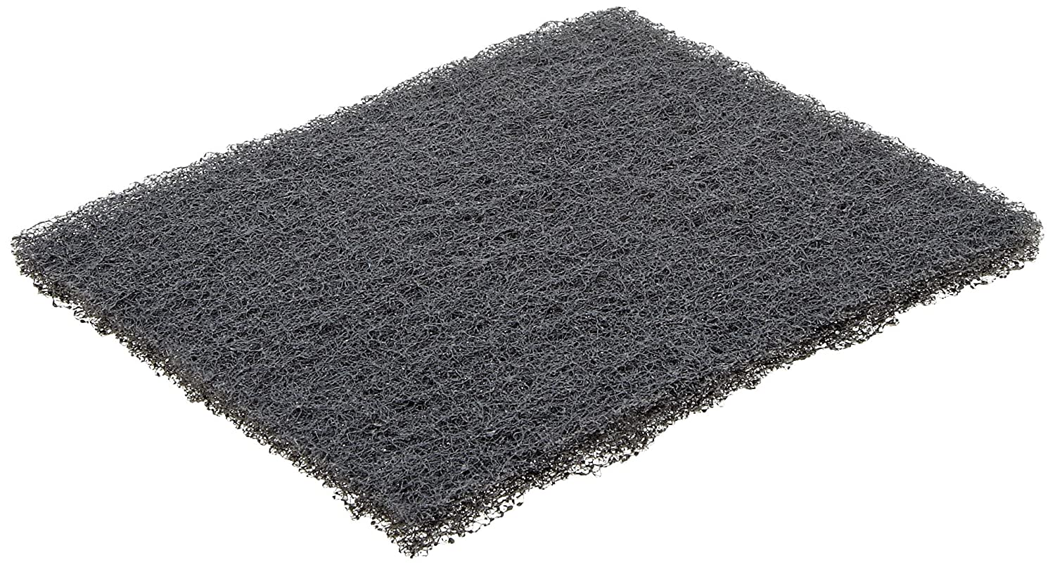 Norton Synthetic Steel Wool Pad Polyester Fiber 5 1 2 Length x 4 3 8 Width Grit Type 000 Pack of 2