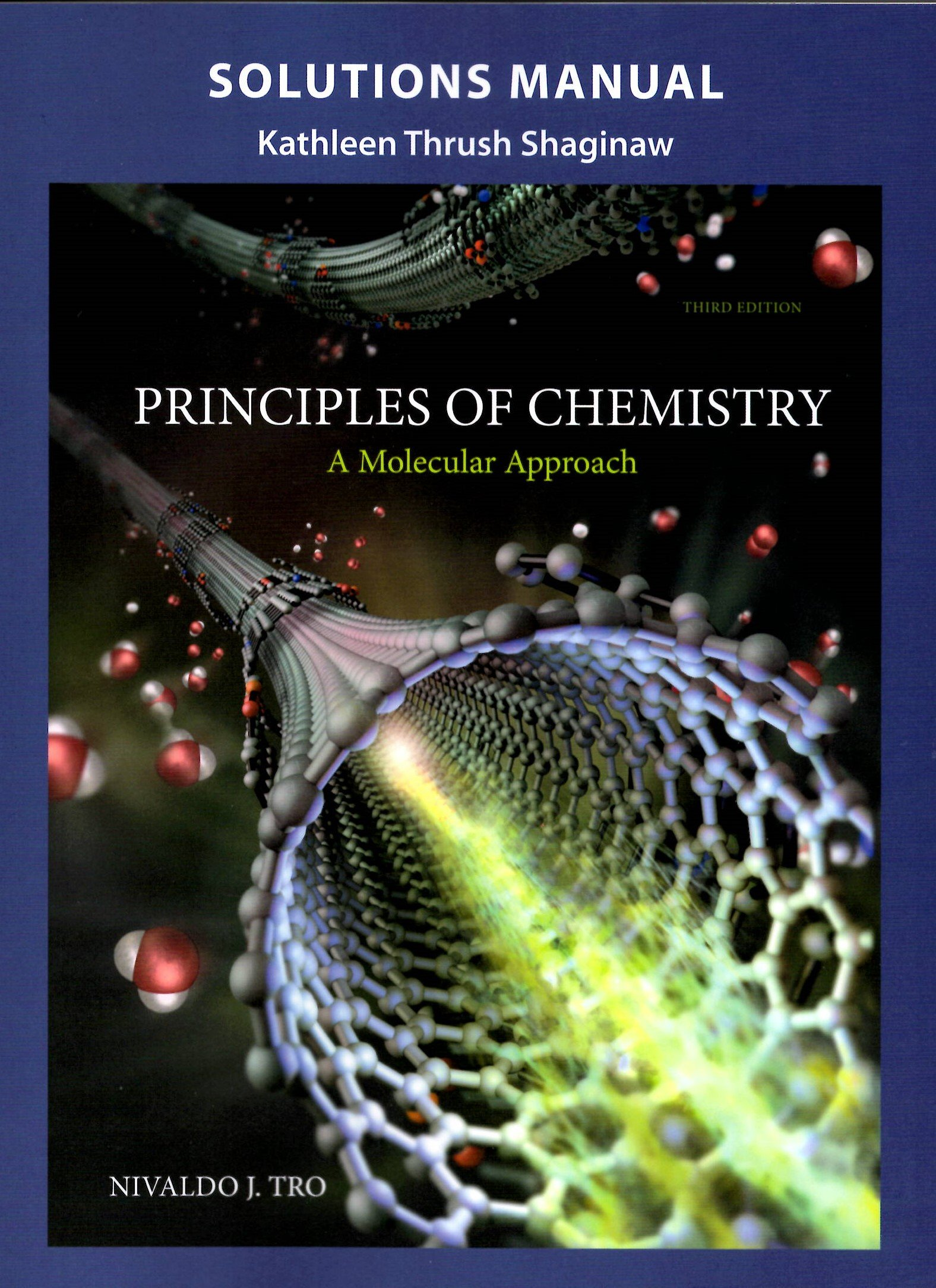 Complete Solutions Manual: Principles of Chemistry (A Molecular Approach):  Kathleen Thrush Shaginaw: 9780133890679: Amazon.com: Books