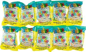 Strictly Briks - Classic Briks - Pack de Ladrillos para Construir - La Alternativa Sana a los Caramelos - Feliz cumpleaños - 10 Paquetes Individuales: Amazon.es: Juguetes y juegos