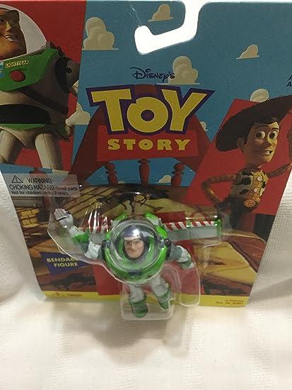Amazon.com: Toy Story Buzz Lightyear Bendable figura: Toys ...