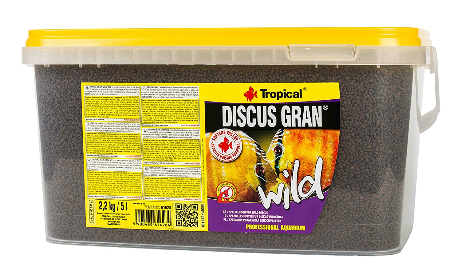 Tropical Discus Wild, 1er Pack (1 X 5 L)