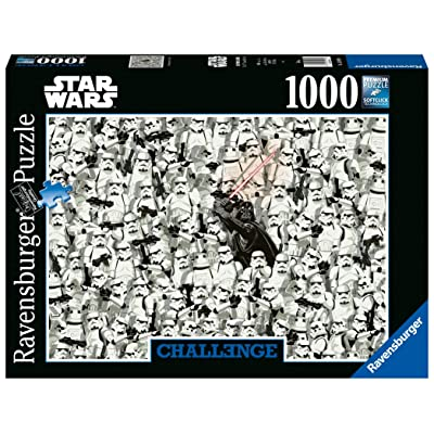 Ravensburger UK 14989 Ravensburger Star Wars 1000pc Challenge Jigsaw Puzzle,: Toys & Games