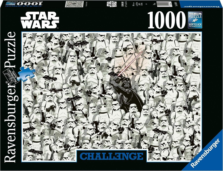 Ravensburger- Star Wars Puzzle 1000 Piezas Disney, Color 1. (14989)