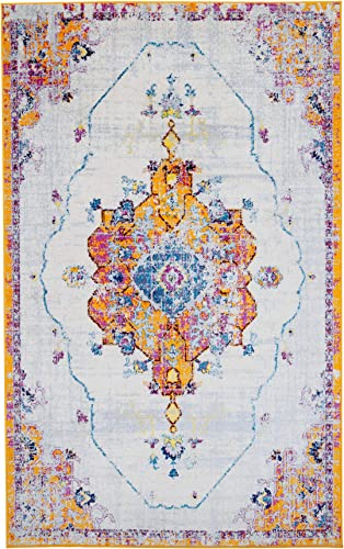 Antep Rugs Elite Collection Bohemian Distressed DSG22 Indoor Area Rug Terra