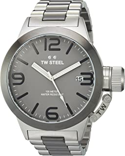TW Steel Mens CB201 Analog Display Quartz Two Tone Watch